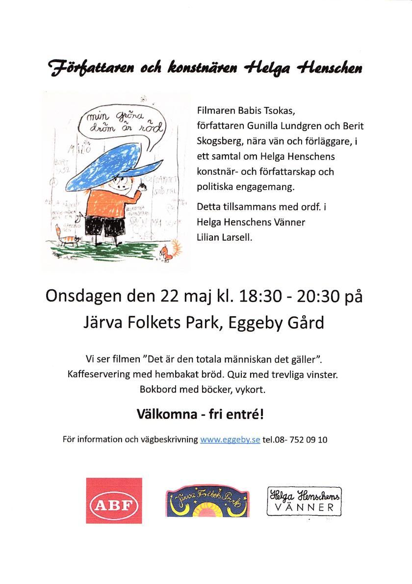 Eggeby 22 maj